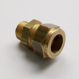 Brass Compression 12mm x 1/4 inch Male Iron - 24421214